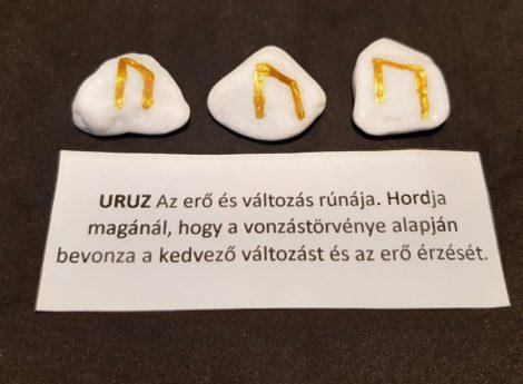 URUZ-Rúna talizmán-görög márvány