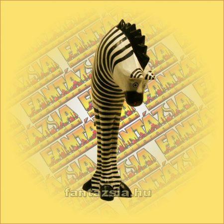 Zebra figura fa 18/25/5cm