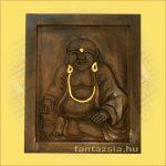 Buddha kép pocakos 45/55/3cm