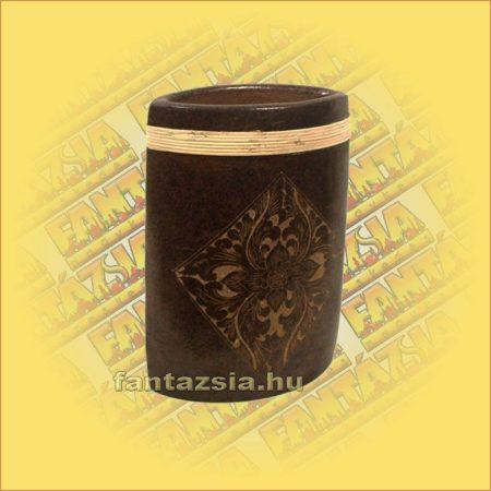 Váza kerámia lapos közepes B