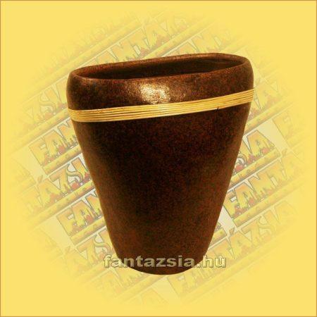Váza kerámia lapos közepes C