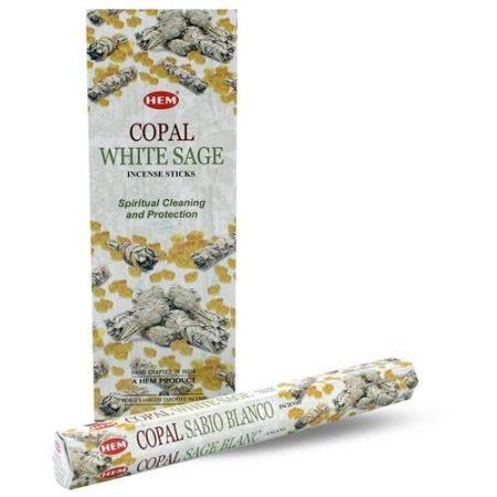 Hem Copal-White Sage indiai füstölő/Hem Copal,Fehér zsálya