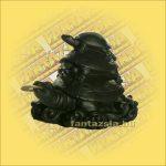 Teknősök Feng Shui halcsont figura