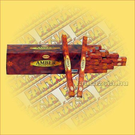 HEM Borostyán illatú füstölő/HEM Amber