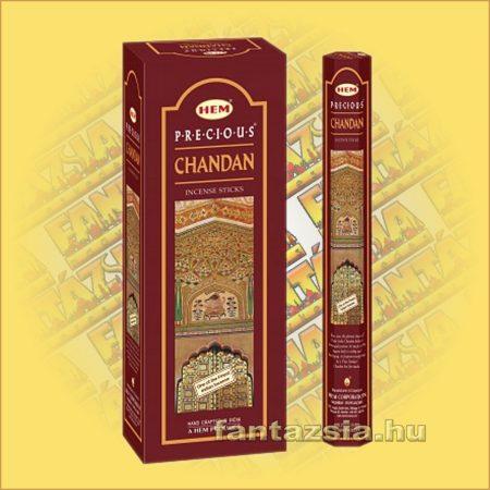 HEM Indiai Szantál /Chandan/ illatú indiai füstölő /HEM Precious Chandan/
