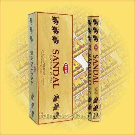 HEM Fehér Szantálfa illatú indiai füstölő /HEM Sandalo/