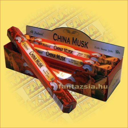 Kínai Pézsma füstölő/Tulasi China Musk