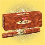 HEM Borostyán illatú indiai füstölő /HEM Amber/