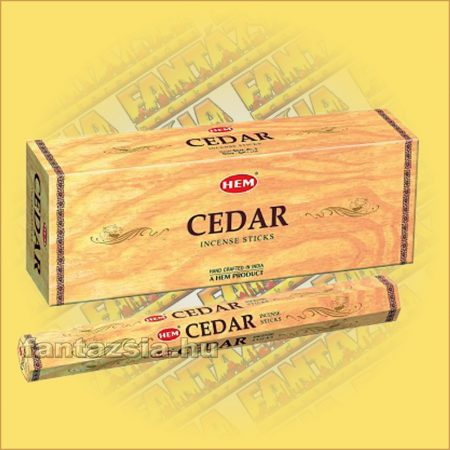 HEM Cédrusfa illatú indiai füstölő /HEM Cedarwood/