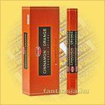 HEM Fahéj és Narancs illatú indiai füstölő /HEM Cinnamon Orange/