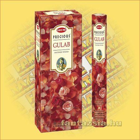 HEM Indiai Rózsa illatú indiai füstölő /HEM Gulab/