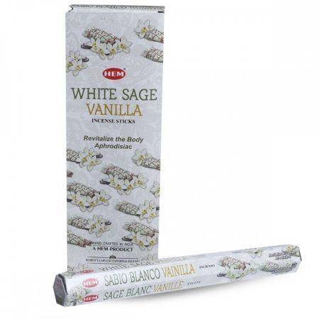 Hem White Sage Vanilla/Hem Fehér zsálya és vaníllia indiai füstölő