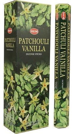 Hem Pacsuli és Vanillia indiai füstölő/Hem Patchouli Vanilla