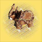 Elefánt homokállat közepes