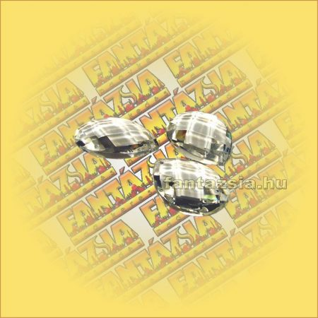 Feng Shui Kristály levél/rombusz csiszolás 63mm