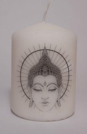 Buddha II-kicsi gyertya