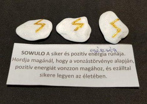 SOWULO-Rúna talizmán-görög márvány