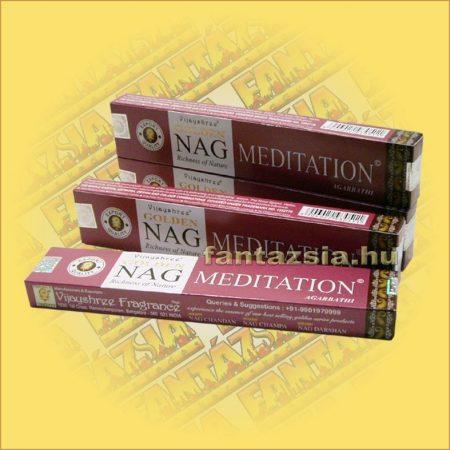 Meditation masala füstölő/Vijayshree/Golden Nag Meditation