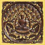 Buddha lótuszon a fügefa alatt