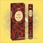 HEM Vörös Rózsa illatú indiai füstölő /HEM Red Rose/