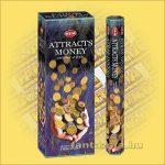 HEM Pénzvonzó indiai füstölő /HEM Attracts Money/
