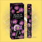 HEM Fekete Ópium illatú indiai füstölő /HEM Black Opium/