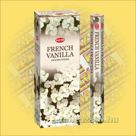 HEM Francia Vanília illatú indiai füstölő /HEM French Vanilla/