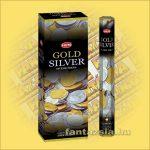 HEM Arany és Ezüst indiai füstölő /HEM Gold and Silver/