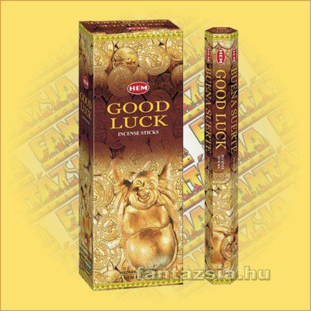 HEM Jó Szerencse indiai füstölő/HEM Good Luck/