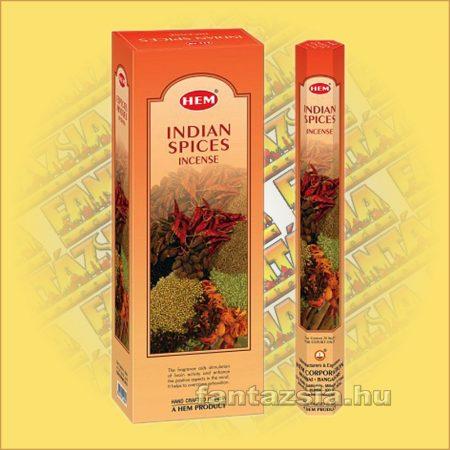 HEM Indiai Fűszerek illatú indiai füstölő /HEM Indian Spices/