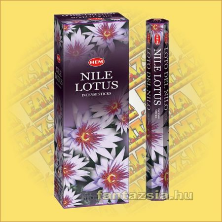 HEM Nílusi Lótusz illatú indiai füstölő /HEM Nile Lotus/