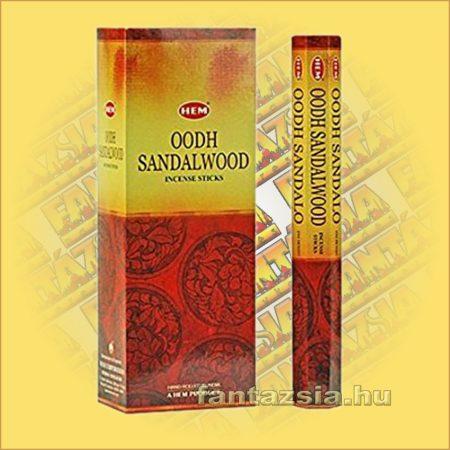 HEM Agarfa Szantál illatú indiai füstölő /HEM Oodh Sandalwood/