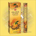 HEM Narancs Szegfűszeg illatú indiai füstölő /HEM Orange Clove/