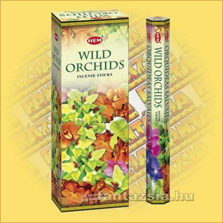 HEM Vad Orchidea illatú indiai füstölő /HEM Wild Orchid/