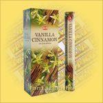 HEM Vanília Fahéj illatú  indiai füstölő / vanilla Cinnamon/