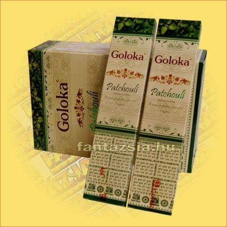 Goloka Patchouli masala füstölő/Pacsuli maszala füstölő
