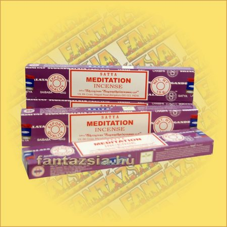 Satya Meditation masala füstölő/Meditációs maszala füstölő