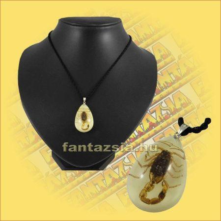 Nyaklánc skorpió medállal