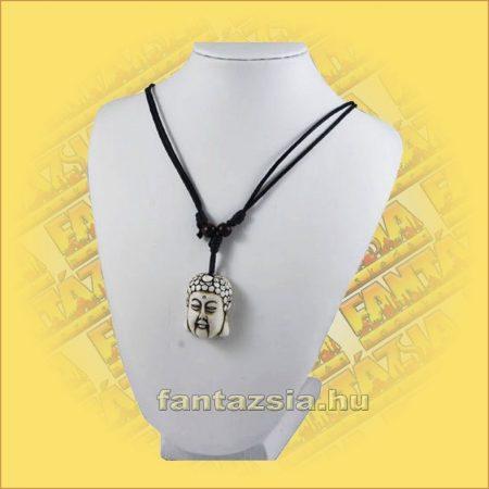 Nyaklánc Buddhafej medállal C
