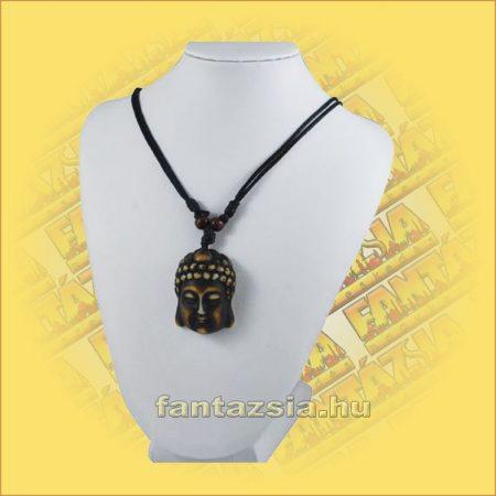 Nyaklánc barna Buddha medállal A