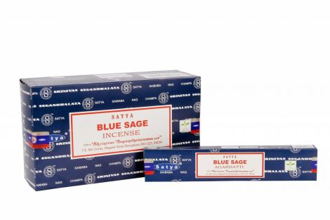 Blue Sage-Kék Zsálya-Satya/Indiai Masala Füstölő