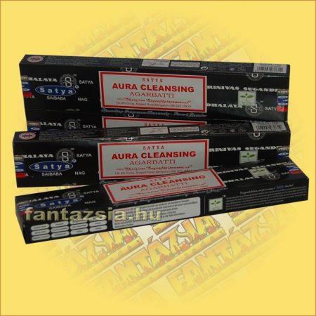 Satya Aura Cleansing masala füstölő/Auratisztító maszala füstölő