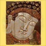 Buddha kép négyrészes/fehér
