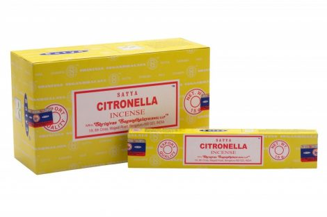 Satya Citronella-Citornella Maszala Füstölő