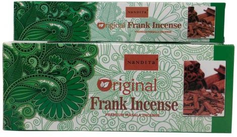 Nandita Original Frankincense-Tömjén Masala Füstölő