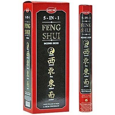 Hem Feng Shui 5 in 1/Hem Feng Shui 5 az Egyben indiai füstölő