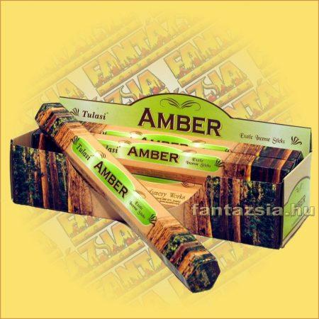 Ámbra illatú füstölő/Tulasi Amber