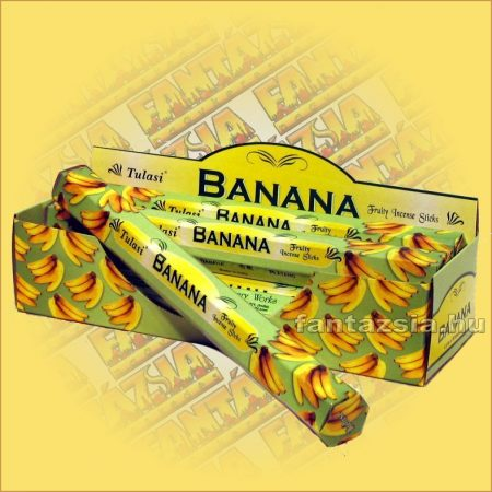 Banán illatú füstölő/Tulasi Banana