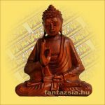 Buddha Szobor Suar Fa 25cm