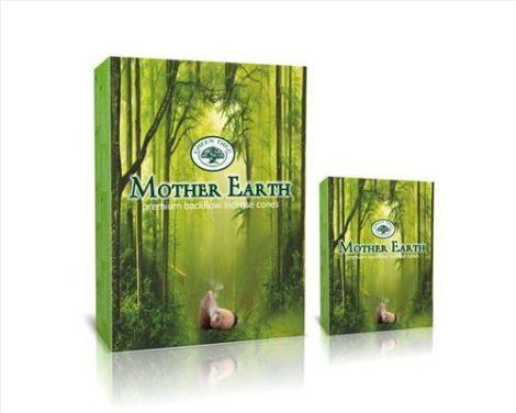 Green Tree-Mother Eart-Földanya-Back Flow-lefelé áramlós kúp (folyékony füst)